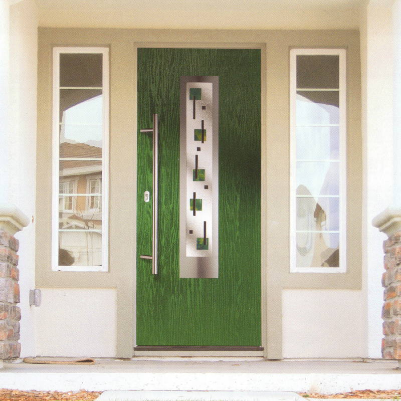 Green composite door double glazed front discount upvc windows cardiff