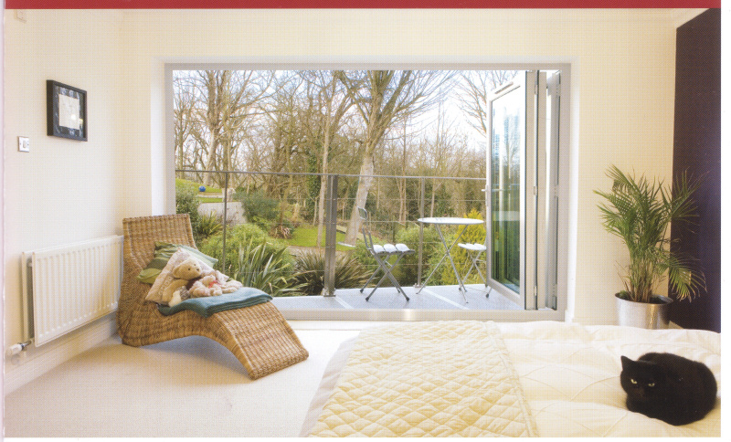 double glazed bi-fold doors Cardiff open light fresh discount