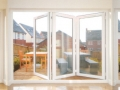 Large Shire double glazed bifold doors Cardiff open light fresh discount