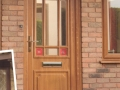Brown upvc doors in Cardiff, with a range of colours available to choose from