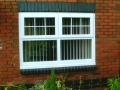 New UPVC windows in white can add character to your home