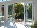 white double glazed patio door in Cardiff