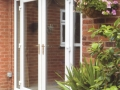 white UPVC French doors available in Cardiff from Discount UPVC Windows