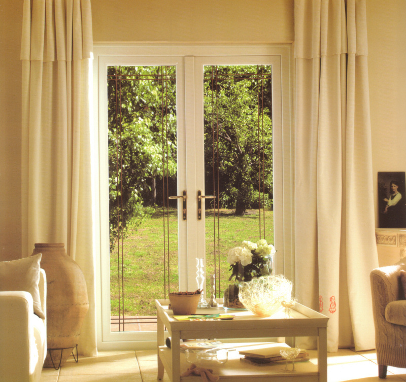 UPVC white French Doors Cardiff by Discount UPVC Windows