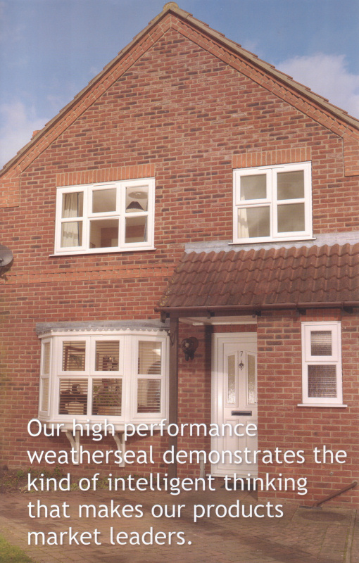weatherseal performance UPVC double glazing windows and doors - Intelligent Solutions